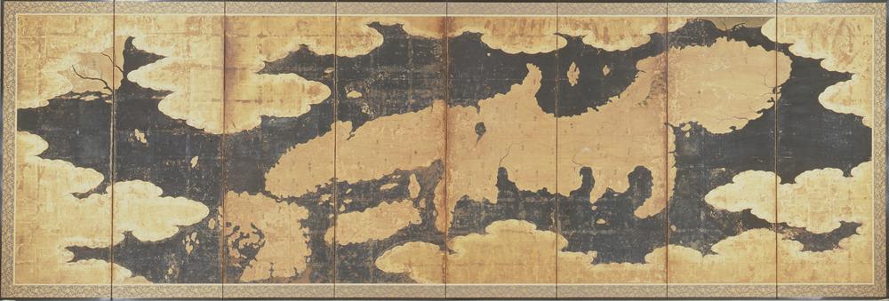 鍵平 日本図屏風